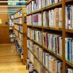 図書館の自習室